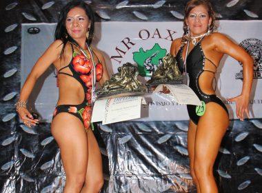 La categoría Fitness femenil, en su espectacular y tradicional presencia.
