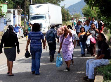 Municipio de Xoxocotlán de los más afectados por el servicio del transporte público.
