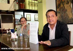 CESAR MATEOS BENITEZ PRESENTA DENUNCIA PENAL EN CONTRA DEL EX GOBERNADOR DE OAXACA ULISES RUIZ ORTIZ.