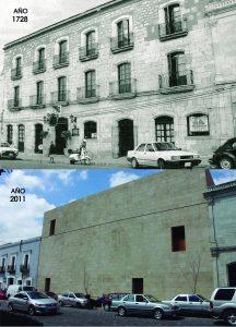 Ex Convento de San Pablo. Antes y despues.