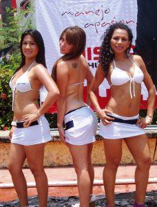 El certamen Señorita Pez Vela, el atractivo visual.