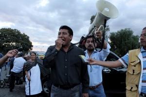 Azael Santiago Chepi, Secretario General de la Sección 22