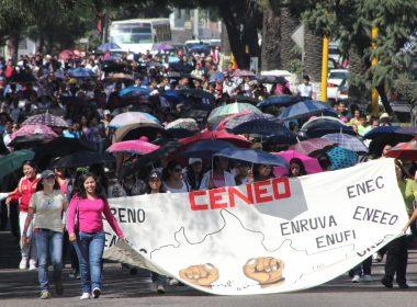 Marcha de los Normalistas