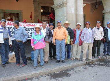 Chimalapas en Palacio de Gobierno