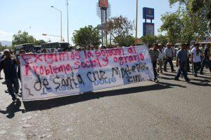 Marcha de Santa Cruz Mixtepec