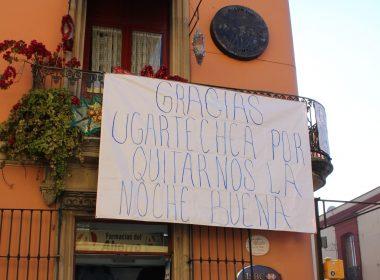 Mensaje para Luis Ugartechea, Presidente Municipal de Oaxaca.