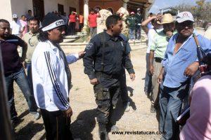 Elemento de la PEP fue retenido y liberado minutos despues del enfrentamiento