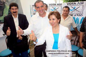 Irma Piñeiro declinó a favor de Gabino Cué en la campaña del año 2010