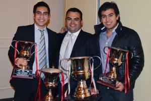Oaxaca estuvo presente en la ceremonia de premiación con Mario Fernández Jr., Emilio Velázquez y Eduardo Arturo Solís Jr.