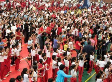 Fueron alrededor de mil los asistentes.