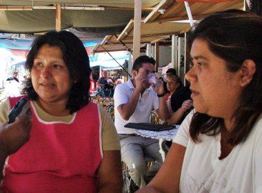 """Thelma Ramírez y Kenia Rodríguez, representantes de las """"neveras oaxaqueñas"""""""