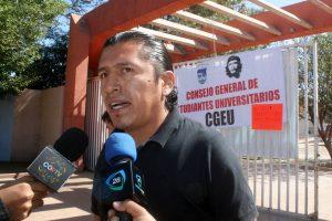 Alejandro Velasco, vocero del CGEU