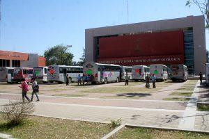 Unidades del Transporte Urbano dentro de las Instalaciones Universitarias