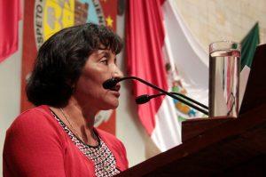 La diputada Margarita García García, del Partido Movimiento Ciudadano, presentó en sesión ordinaria de la Diputación Permanente del Congreso del Estado, la iniciativa de Ley de Entrega y Recepción de los Asuntos y Recursos Públicos para el Estado de Oaxaca.