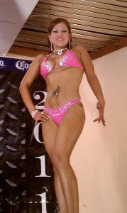 Marisela Ventura Cruz, 1er lugar Fisico Fitnes y 2o lugar Miss Bikini Oaxaca 2011