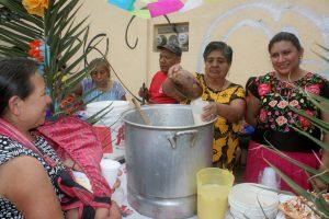 Tradicional festividad en el Barrio de Xochimilco