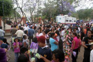 """Más de mil personas se dieron cita en la festividad del """"Señor de las Tres Caídas"""""""