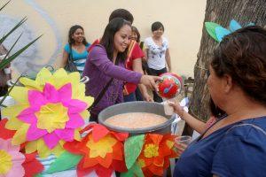 Con gran alegría se repartieron las tradicionales Aguas de Xochimilco