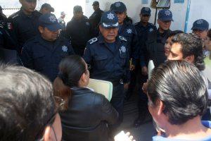 Llegaron al cuartel de la Policía Municipal