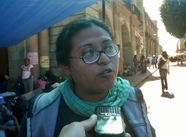 Monserrat San Martin, representante de la coordinación de comunicación de OIDHO