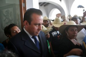 "Secretario General, Omar Adrián Heredia Mariche, ""al quite"""