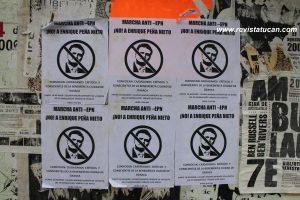 Campañas Anti-Peña Nieto en Oaxaca.