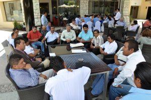 Autoridades del Municipio de Santa Lucia pidieron la intervención del Congreso del Estado