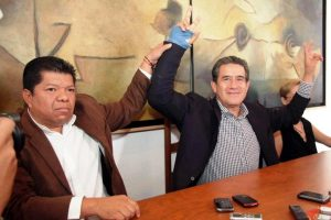 Diodoro Carrasco Altamirano y Joaquín Ruiz Salazar