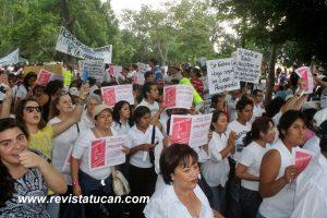 """Protestas en el Paseo Juárez """"El Llano"""""""