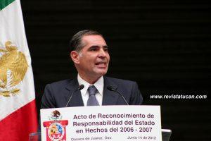 Gabino Cue Monteagudo, Gobernador del Estado de Oaxaca