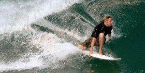 Hubo grandes emociones en el torneo de surf Coco Nogales