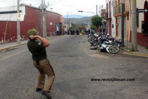 Agentes de Transito contra Policías Municipales
