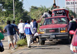 Choferes al rescate de los Mototaxis