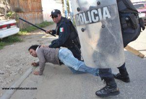 Detenciones por parte de la Policía Estatal Preventiva