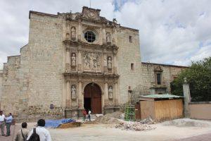 San Agustin, fachada original.