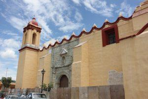 Templo de San Agustin, adios a la cantera.
