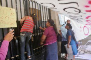 Puerta principal del Palacio de Gobierno del Estado de Oaxaca