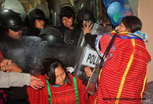 Mujeres Policías encabezaron el Operativo