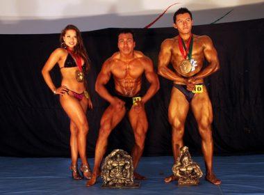 Carolina Bando Rasgado, reina en fitness.