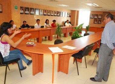 Alumnos del COBAO en su preparación