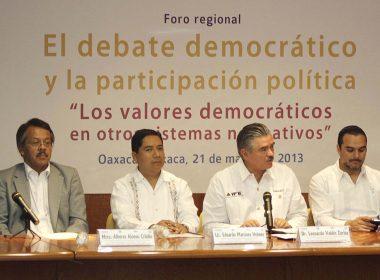 """""""Los valores democráticos en otros sistemas normativos"""""""