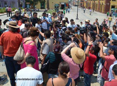 Protesta de Periodistas de Oaxaca