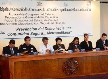 """Foro """"Prevención del Delito hacia una Comunidad Segura... Metropolitana"""""""