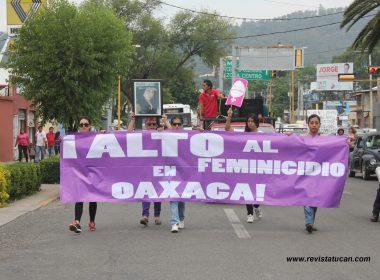 ¡Justicia para Dafne! El grito durante la marcha de mujeres