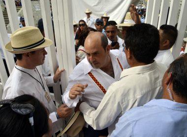Luis Ugartechea vs Elemtos de seguridad
