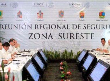 Reunión Regional de Seguridad Zona Sureste