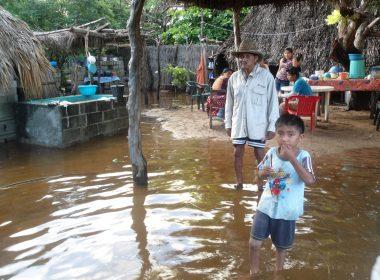Las inundaciones afectan gravemente a familias en el Istmo