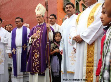 Representantes de la Iglesia Católica en Oaxaca