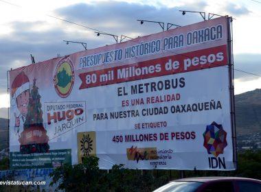 Metrobus para Oaxaca.