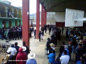11 pobladores de Río Hondo fueron detenidos durante operativo policiaco